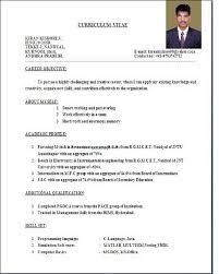 Types Of Resume Format. examples of resumes formats different ...