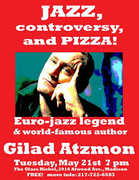 d atzmon in madison tuesday may 21st