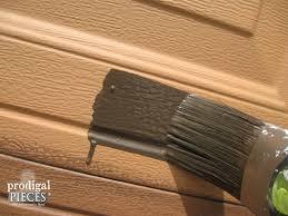 diy faux wood garage doors. Glazing-technique-garage-door Diy Faux Wood Garage Doors