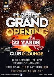 bar grand opening flyer c futego