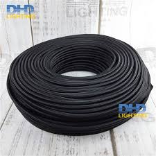 cable pendant lighting. Free Shipping 3X0.75mm 3 Cores Black Fabric Electric Wire Pendant Lamp Cable Table Lighting E