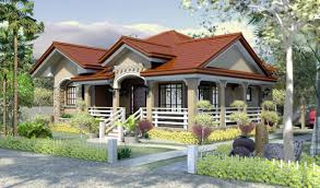 modern bungalow house designs and floor plans for small homes philippines pic
