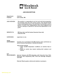 Culinary Arts Resume Sample Download Now Sample Line Cook Resume