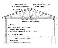 pdf barn building plans free plans free pole barn house building plans