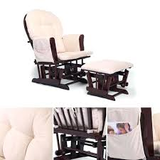 rocking chair set bow back glider beech wood rocking nursing relax chair set with beige cushions rocking chair cushion sets outdoor