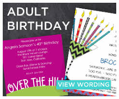 Invitation Words For Birthday Party Birthday Invitation Wording Examples Invitation Box