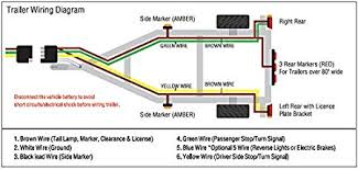 5 wire trailer wiring diagram 5 image wiring diagram amazon com shoreline marine 4 way trailer wire harness 25 feet on 5 wire trailer wiring