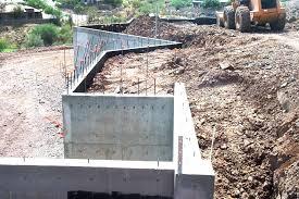 Small Picture Basement Retaining Wall Concrete Contractor Phoenix Arizona
