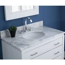 marble vanity tops with sink.  With Ryvyr MAUT490WT 49 Inch Vanity Top For Udermount Sink With Backspalsh   White Carrara Marble On Tops With 1