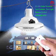 22 Led Remote Control Solar Lamp Hooking Camp Garden Lighting Outdoor Indoor
