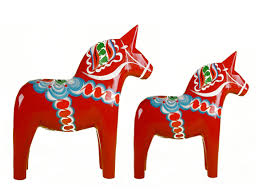 Wooden Dala Horse