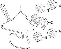 com acirc reg pontiac grand prix belts pulleys oem parts 2008 pontiac grand prix gxp v8 5 3 liter gas belts pulleys