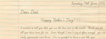 Father S Day Letter Blog