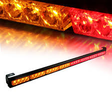 Red And Amber Led Light Bar