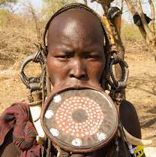the mursi tribe and lip plates