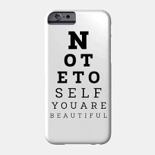 Smartphone Eye Chart Eye Test Quote