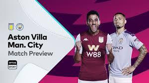 Preview: Aston Villa v Manchester City