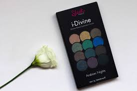sleek makeup arabian nights i divine eyeshadow palette ревю