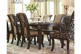 ashley dining room sets. brown valraven dining room table view 1 ashley sets f