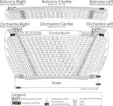 Casino Nova Scotia Seating Chart Seating Plan Bella Rose Arts Centre