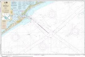 Noaa Chart Approaches To Galveston Bay 11323