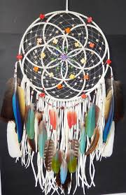 What Stores Sell Dream Catchers RESERVED for joniboals100 Authentic Native American Seed Of Life 99