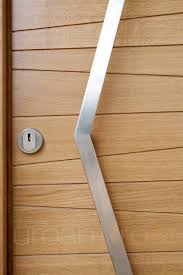 Door pull handle / stainless steel / contemporary - OPTION 11 ...