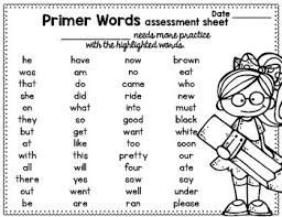 The Ultimate Sight Word Flashcards Dolch Primer By Brenda Tejeda