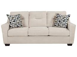 Ashley Furniture Cerdic Contemporary Sofa with Shaped Track Arms