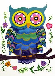 Art For Kids Artwork For Kids Google Search Preschool Art Pinterest Owl