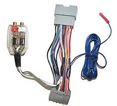 amazon com factory radio add a amp amplifier sub interface wire Automotive Wiring Harness at Additional Wiring T Harness