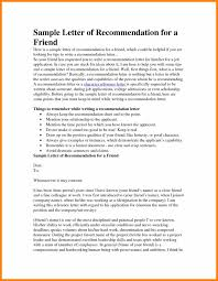 5+ Letter Of Recommendation For A Friend And Colleague | Unmiser Able