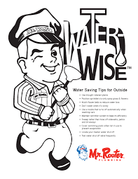 Kid Zone Water Conservation Coloring Page