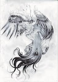 неподражаемая птица феникс в качестве тату значение эскизы