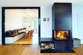 wood burning column