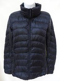 Auth UNIQLO Womens Navy Blue Lightweight Packable Quilted Down ... & Image is loading Auth-UNIQLO-Womens-Navy-Blue-Lightweight-Packable-Quilted- Adamdwight.com