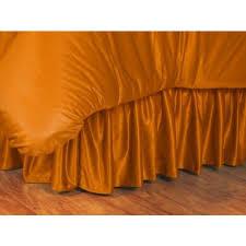tennessee volunteers ncaa bed skirt
