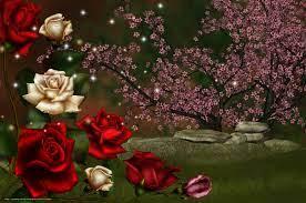 wallpaper nature, Rose, 3d, art ...
