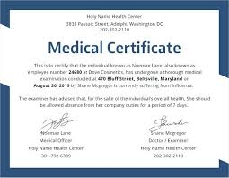 Medical Certificate Template Unique New Medical Certificate Good Health Sample Certificate Printable