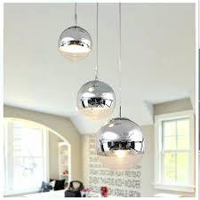 modern tom mirror glass ball pendant lights restaurant chrome lamps kitchen hanging light fixture soap