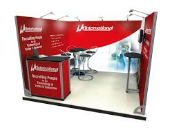 Portable Display Stands For Exhibitions Delectable 322m X 322m Exhibtion Stand Portable Display Stand
