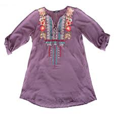 pioneer woman clothing. plum embroidered tie top pioneer woman clothing