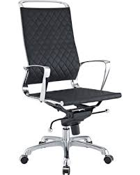 contemporary leather high office chair black. modway vibe modern leather high back office chair black contemporary i