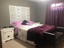 Charming Purple Grey White Bedroom Ideas Home Pinterest