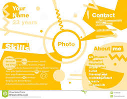 Modern Resume Infographics Infographics Resume In The Style Of Suprematism Designer