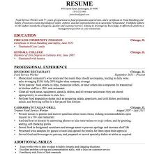 Sample Resume Education Section