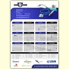 pharmacy design company modern elegant pharmacy calendar design for a company by