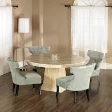 60 Round Dining Table Set Round Dining Room Table With Upholstered Chairs Vidrian Com Round