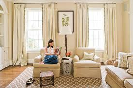 Living Room Curtain Ideas Plan