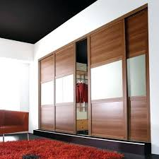 wardrobe glass doors walnut frame walnut soft white glass walnut 3 panel shaker wardrobe glass sliding
